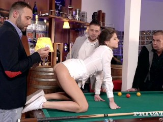 gina gerson receptiont private schooling on how to hardcore gangbang