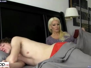 porndopcom. - milf with son in guesthouse