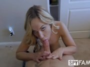 SpyFam Stepson fucks busty stepmom Olivia Austin for first time