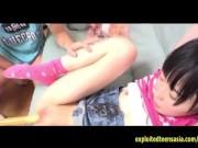 Small Jav Teen Schoolgirl Explores Sex