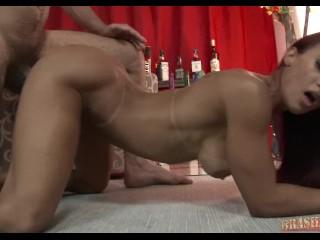 Super fit Brazilian girl fuck