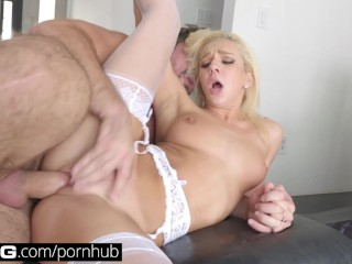 BANG Gonzo: Tiffany Watson Squirts All Over A Big Cock
