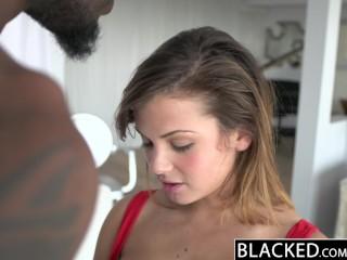 BLACKED Keisha Grey First Big Black Cock!