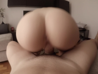 Morning creamy quickie to celebrate one million views ♡ (WITH CREAMPIE!)