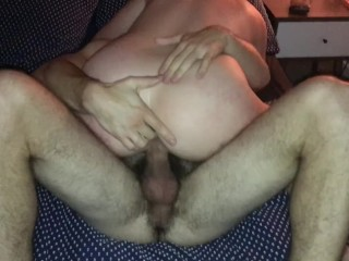 Spartan hot wifing with young bull who cums hard