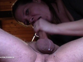 Passionate Monster Creampie and Oral creampie - He came twice :)