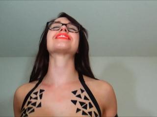Tape fetish ends with big cumshot on glasses