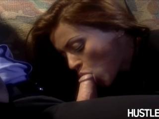 Nikita Denise - The notorious tongue flick.