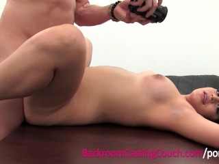 Mexican Babysitter First Anal and Creampie
