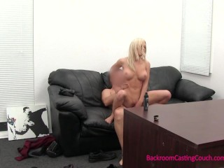 Big Tit Blonde Nurse Student Creampie Audition