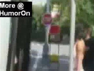 European Sharking - Guy pulls down tops, skirts and panties in public!