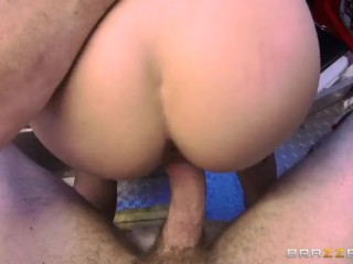 Marsha May Works A Busy Hot Dog Stand While Getting Her Tight Pussy 1