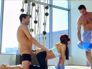 Sexy Yoga Pants - Double Penetration
