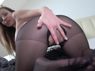 Mary Wet nylon german dirty talk