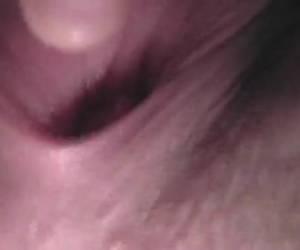 Geile close-up van een kutje
