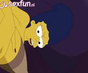 En zo hebben de vader en moeder van Bart sex