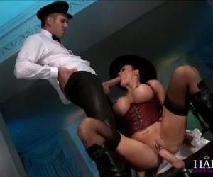Cumswapping als toetje na trio