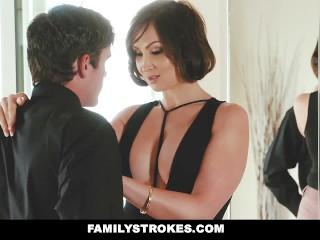 familystrokes- kinky aunt sexs step-nephew
