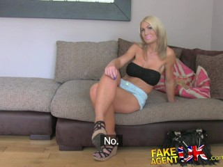 fakeagentuk busty mam and her magic clit causes premature problems
