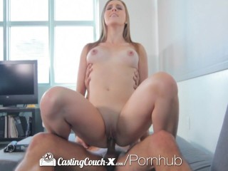 full video castingcouch x newcomer lia ezra gets sight sprayed with spunk