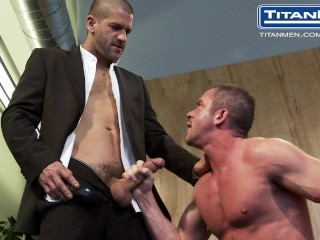 eye contact: christopher saint  tony buff!