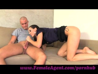 femaleagent. beautiful chap in mind sucking casting