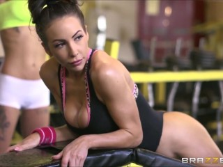 pornstars yoga body fitness voluptuously pmv