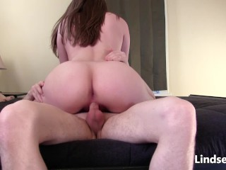 harde introduce riding  desirous creampie with lindseylove