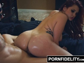 pornfidelity amber ivy brutally poked and cum