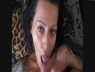 enceinte jizz on face sperm
