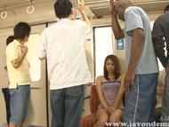iori mizuki train interracial threesome