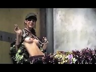 mystery babe in hatchet 2006