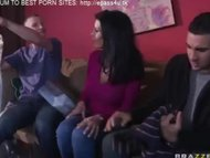 enceinte tit and hot blond mommy visits son and his mistress