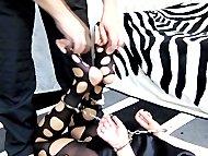 feet tickle in briefs