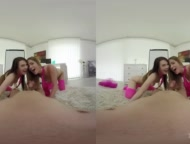 tmwvrnet - alexis crystal - timea bella - vr horny babes never bored