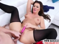 euro mommy gia giacomo anal in stockings wants hardcore sex