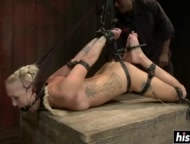 bdsm pleasures for a submissive blonde