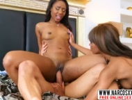 two ebony stepmoms loves threesome, chanell heart, lacey london, son